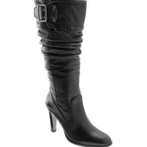 "Matisse ""Kascha"" tall slouch buckle boot"